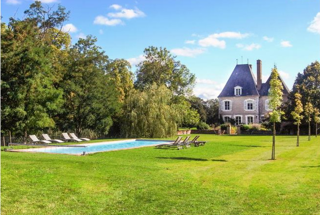 Chateau Seiguier in the Loire Valley