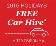 Free car hire from James Villas