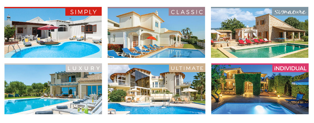 James Villas Collection - Simply, Classic, Signature, Luxury, Ultimate, Individual