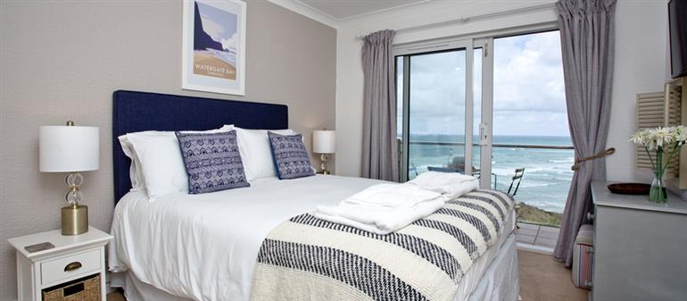 Bedroom in 17 Waters Edge, Newquay