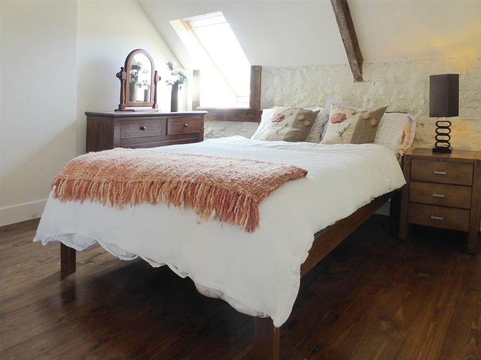 Bedroom in Ballymagyr Castle Holiday Cottages - Cottage 2, Killag near Kilmore Quay Co Wexford