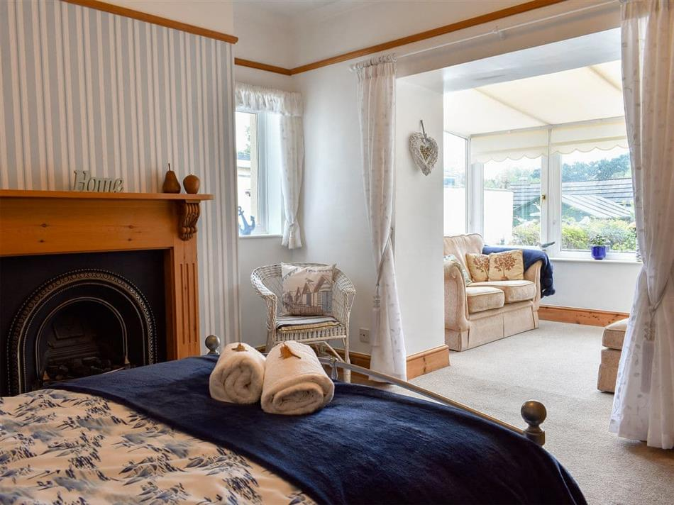 Bedroom in Bay Cottage, Par, near St Austell