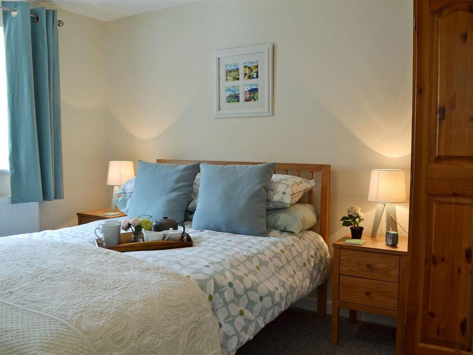 Bedroom in Cornbrash Farm Cottage, Earlsdown, near Heathfield, Sussex