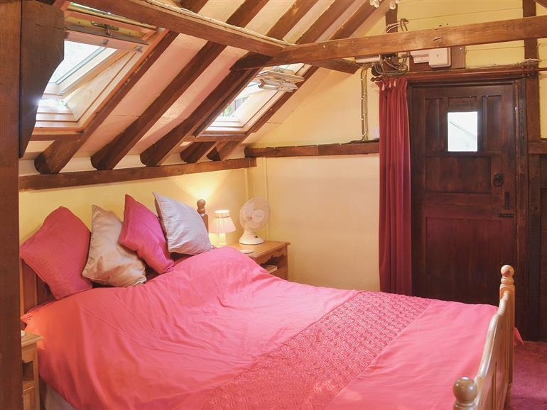 Bedroom in Field Mouse Cottage, Suffolk