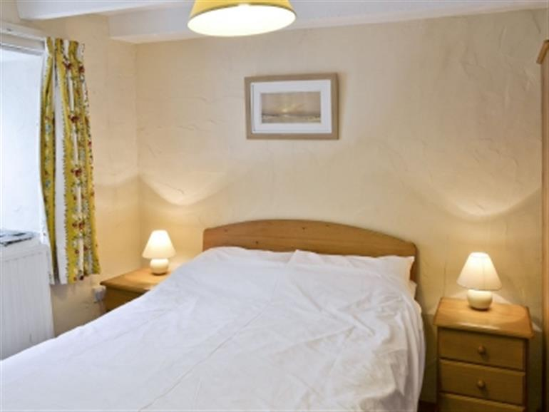 Bedroom in Hayloft at Summercourt Cottages, Looe