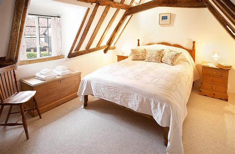 Bedroom in Holly Cottage, Huntingfield