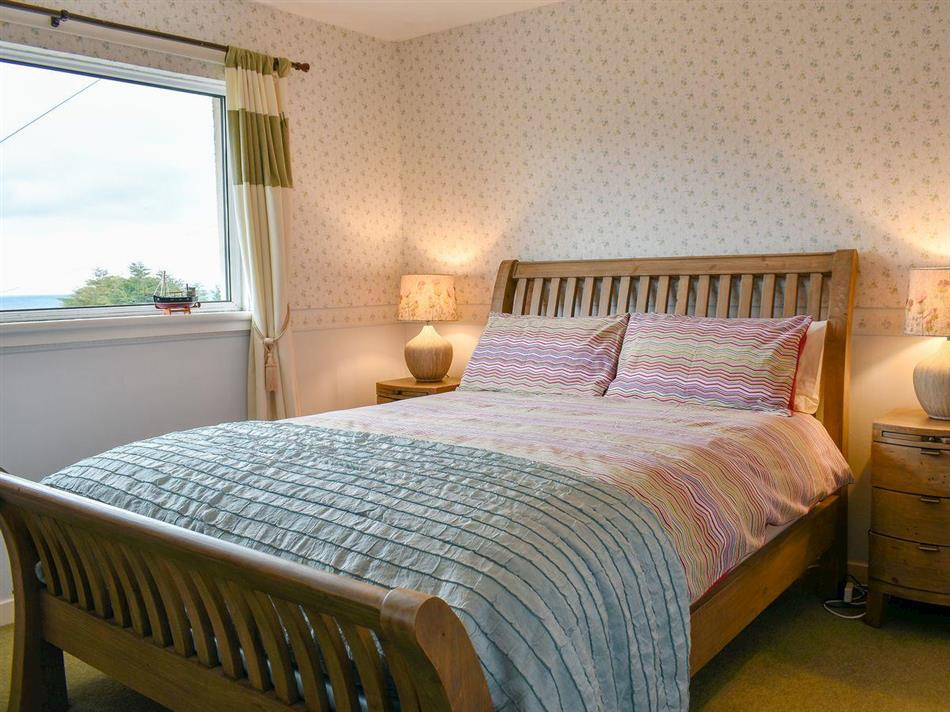 Bedroom in The Willows, Brodick, Isle of Arran