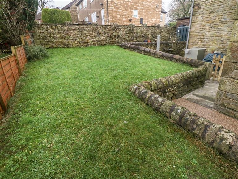 This is the garden at 1 Town Head in Longnor