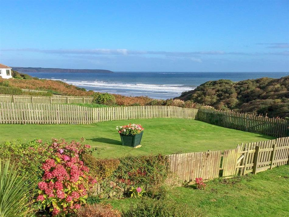 Garden at Bella Vista, Hunmanby Gap, near Filey