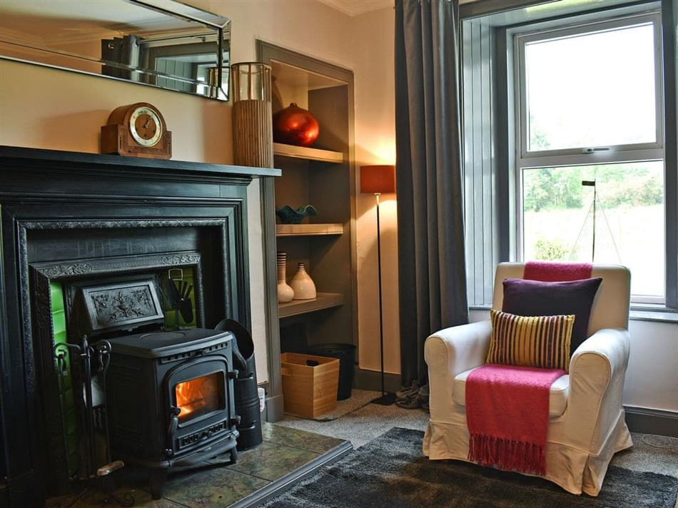 Living room in 2 Northbank Cottages, Whiting Bay, Isle of Arran
