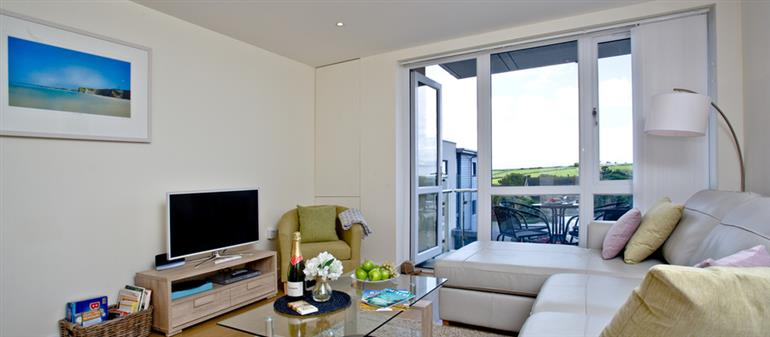 Living room in 31 Tre Lowen, Newquay