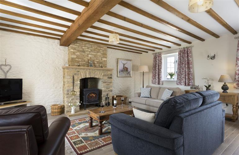 Living room in Alysas Cottage, Chipping Norton