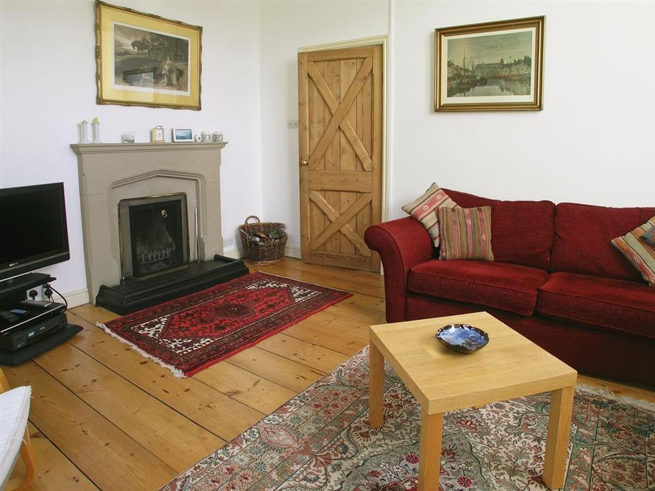 Living room in Barton School House, Pooley Bridge, Ullswater, Lake District