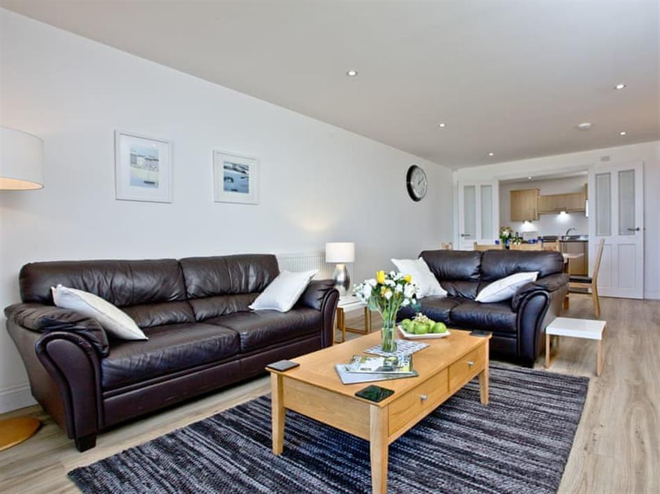 Living room in Beaches at Bredon Court, Newquay