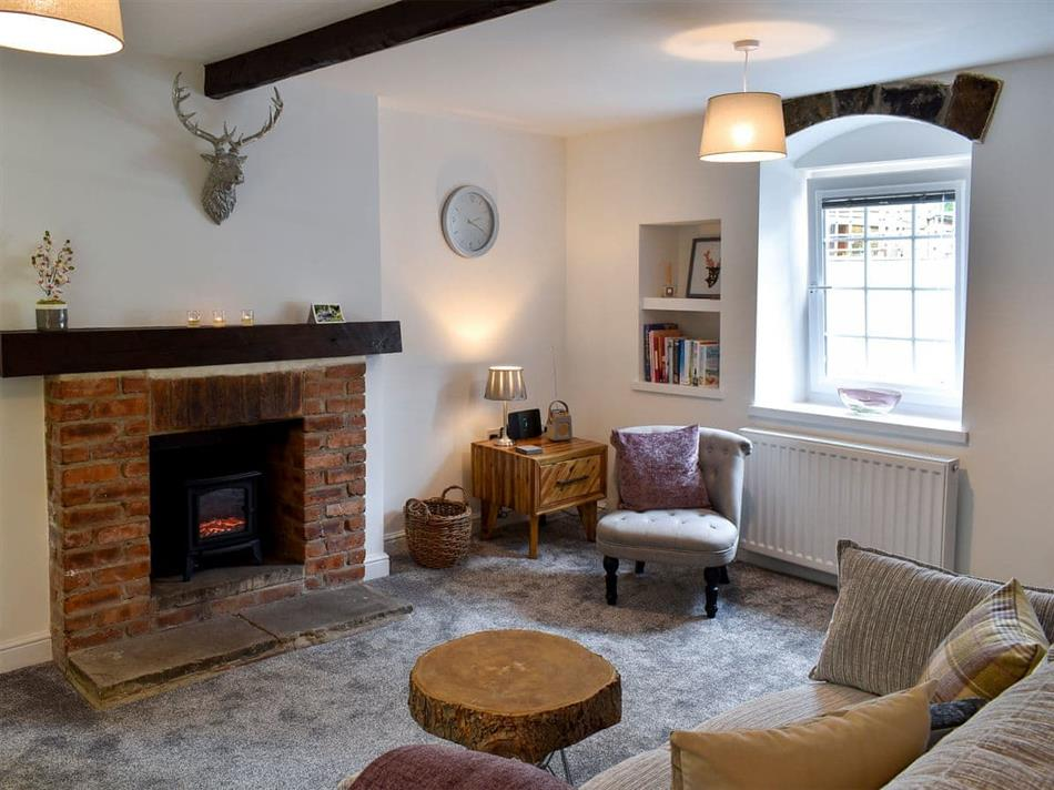 Living room in Beckside Cottage, Silsden