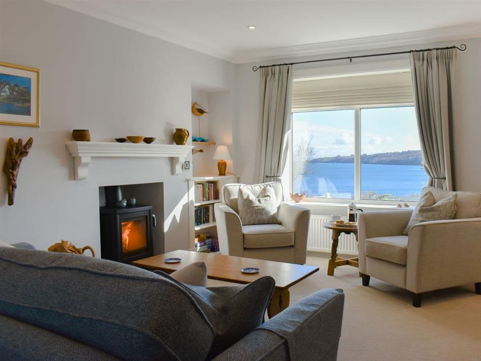 Living room in Braehead Cottage, Lamlash, Isle of Arran