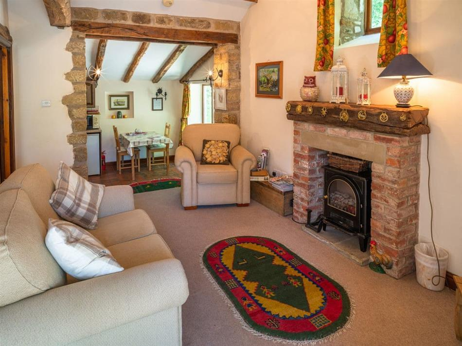 Living room in Bridge Cottage,