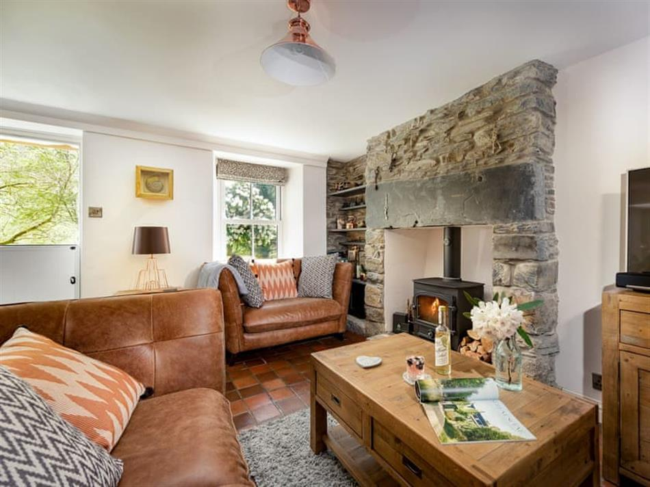 Living room in Ceunant Cottages - Riverside, Rhyd Y Sarn, near Porthmadog