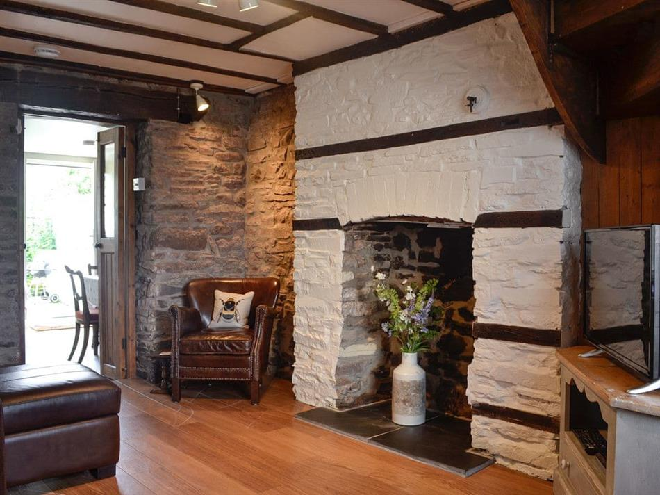 Living room in Charles Cottage, Brecon