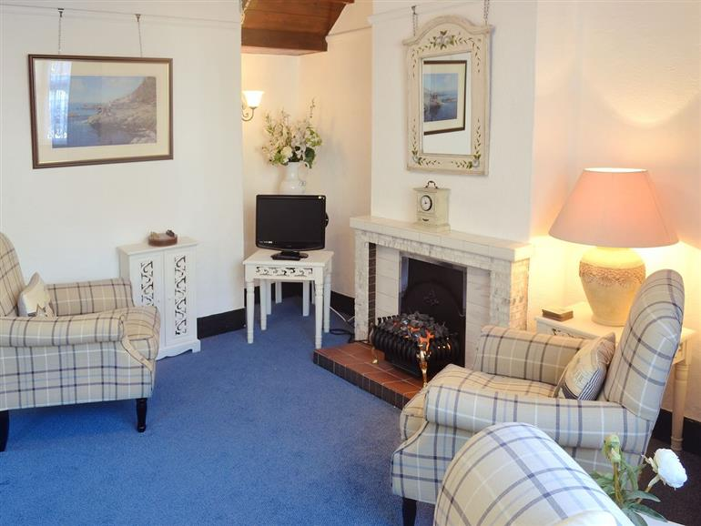 Living room in Chy-Vean, Cornwall