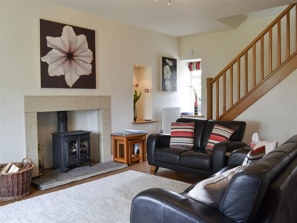 Living room in Clematis Cottage, Burnsall, Yorkshire