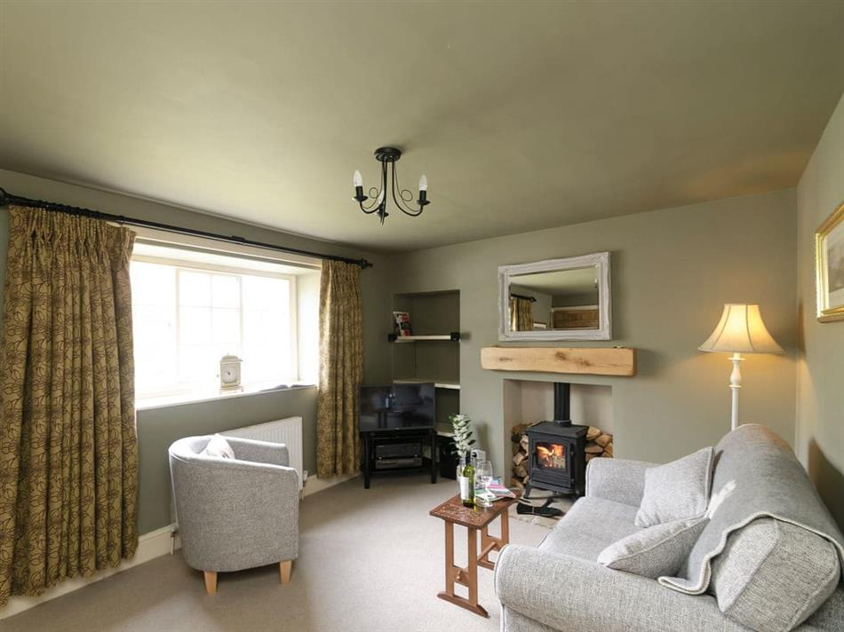 Living room in Ebor Cottage, Terrington, near Malton