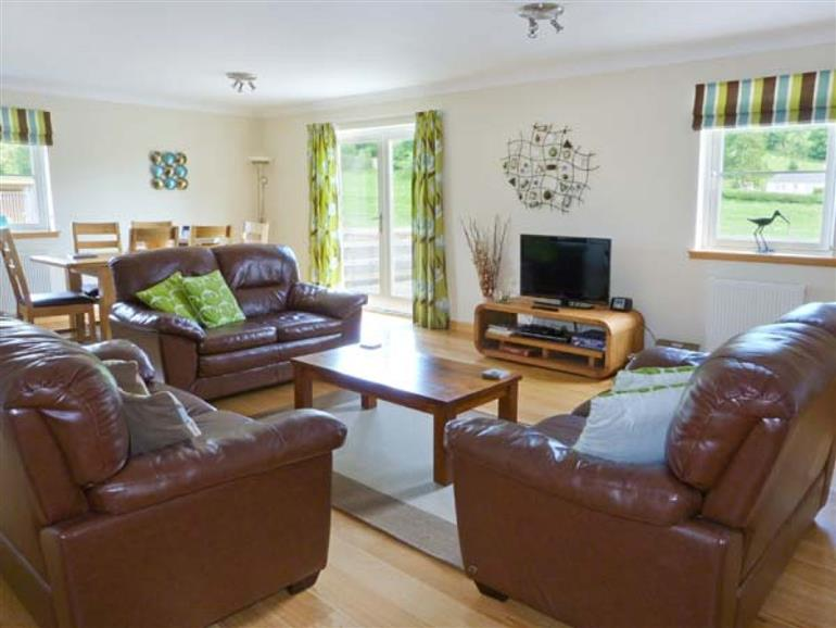 Living room in Lon Cottage, Blairgowrie