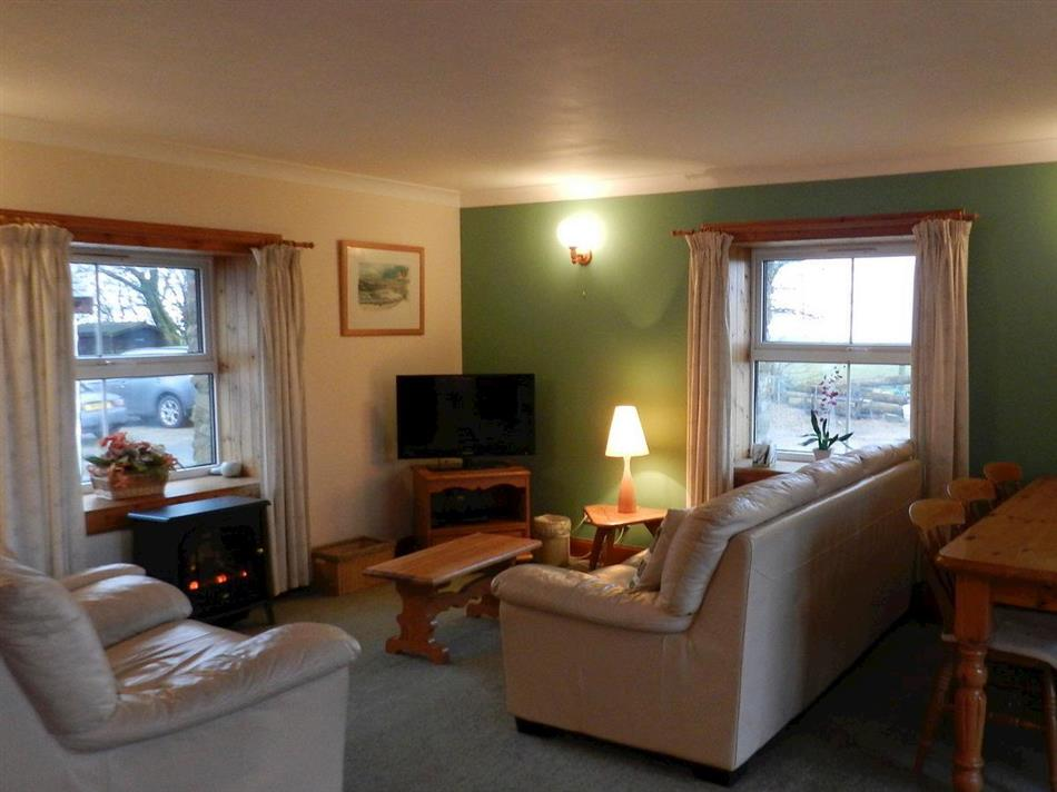 Living room in Mill Cottage, Blackwaterfoot, Isle of Arran