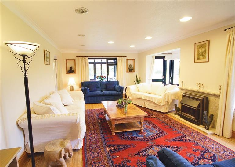 Living room in Moles Acre, Norfolk
