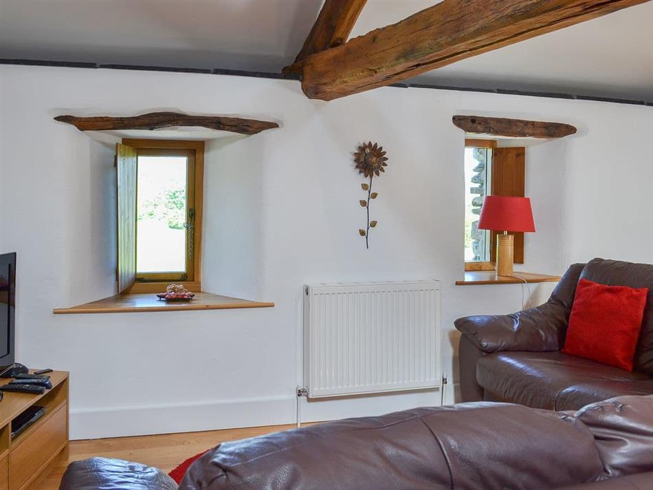 Living room in Old Barn Holidays - The Hayloft, Newby Bridge, near Ulverston