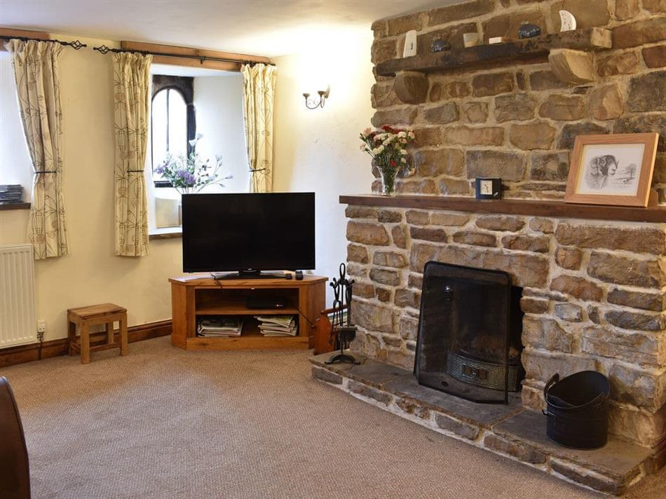 Living room in Parkers Cottage, Dent, near Sedbergh