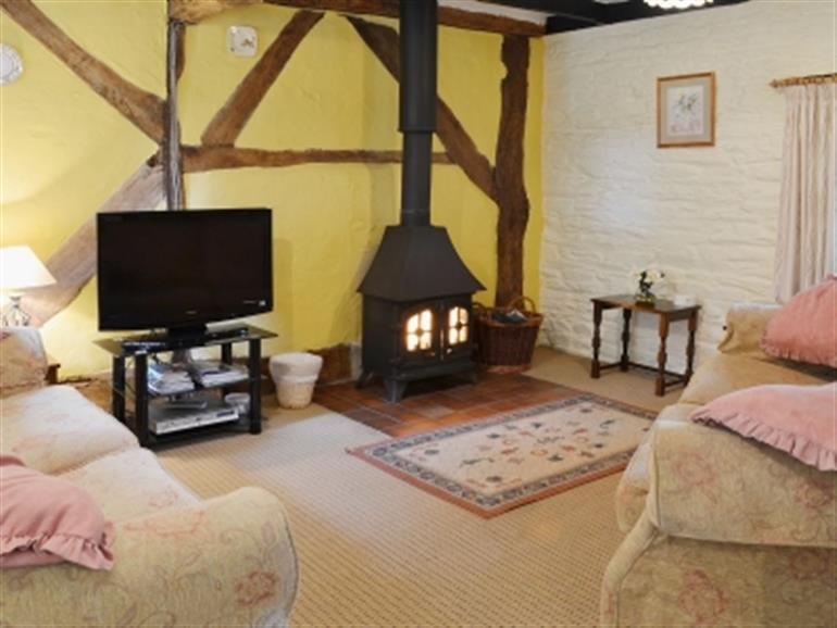 Living room in Penwern Fach Holiday Cottages, Ponthirwuan near Cenarth