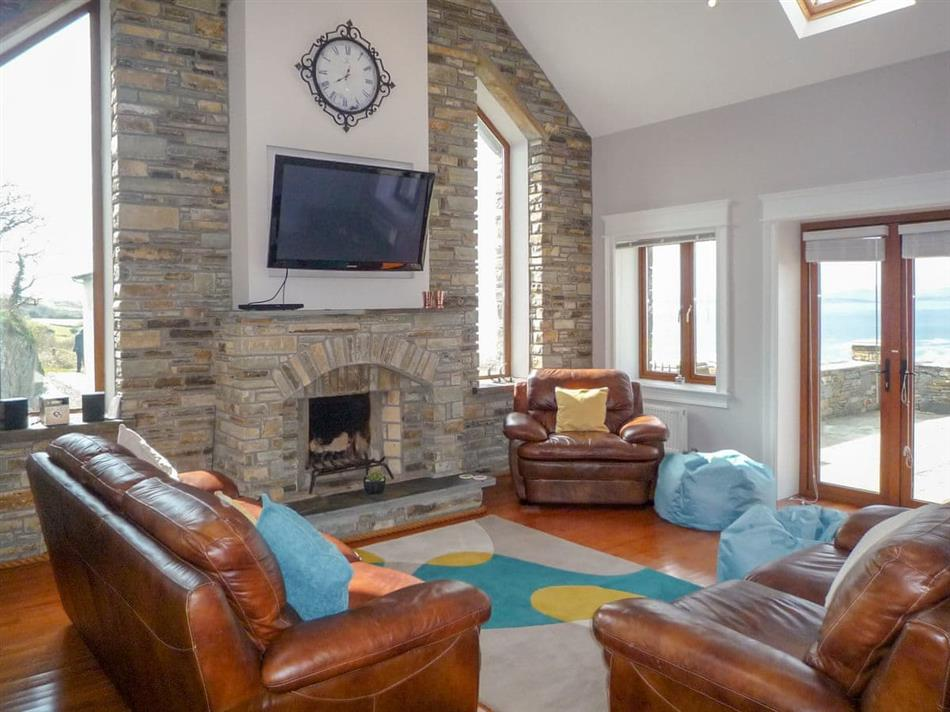 Living room in Sea View, Gortnakilly, County Cork