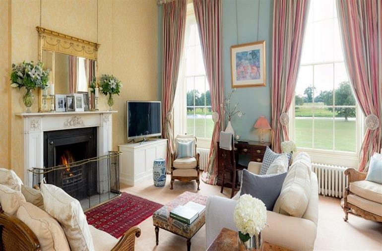 Living room in Sibton Park, Sibton Park