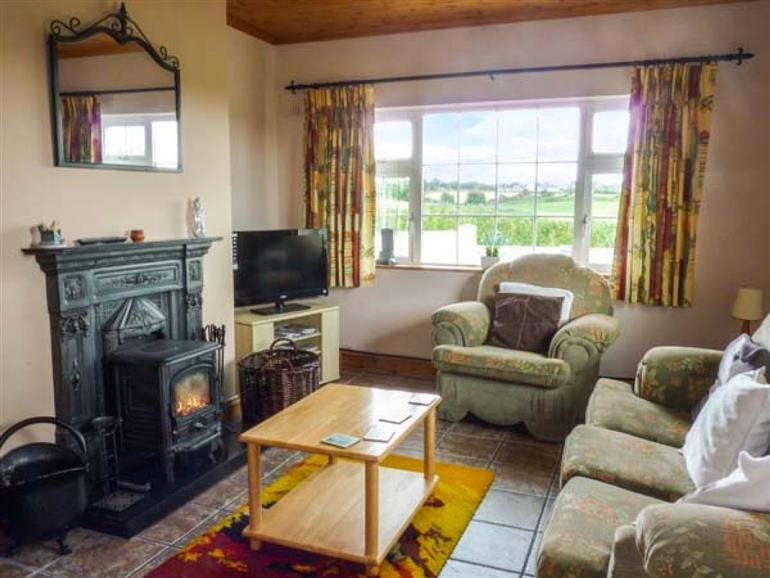 Living room in Sussex Lodge, Marshalstown near Enniscorthy