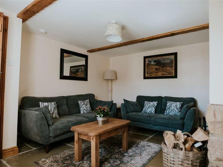 Living room in The Bothy, Brompton-on-Swale near Richmond