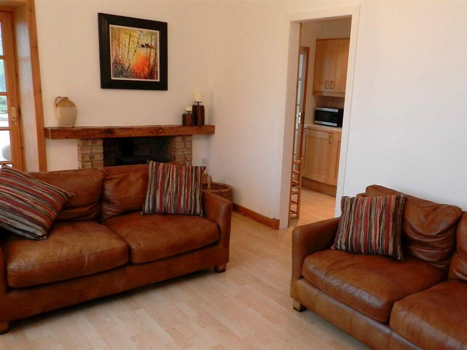 Living room in The Croft, Lamlash, Isle of Arran