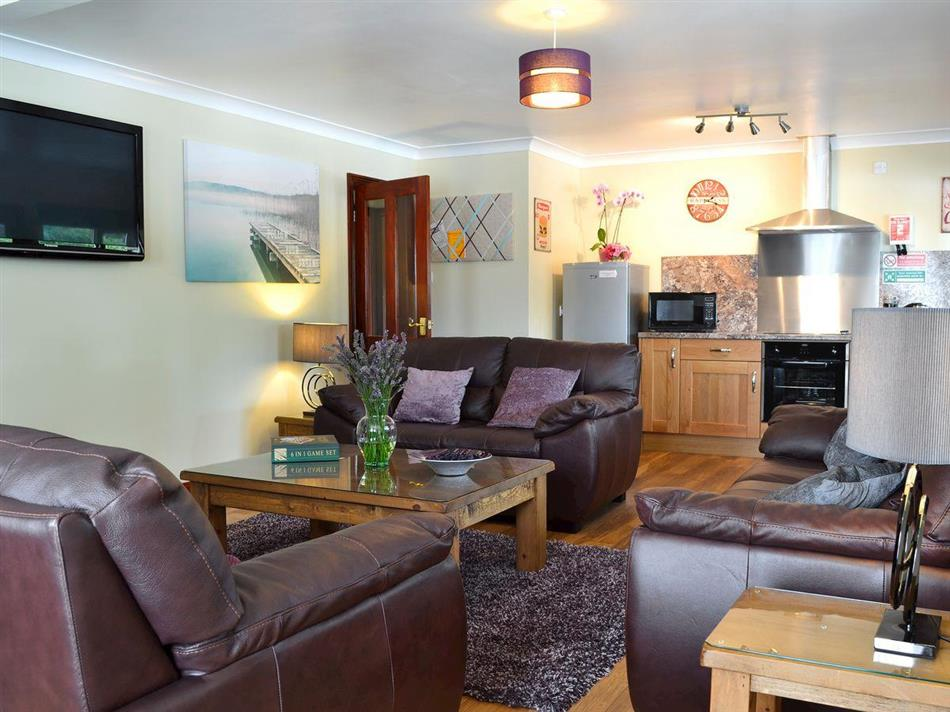 Living room in The Lodge, Brandesburton, near Driffield