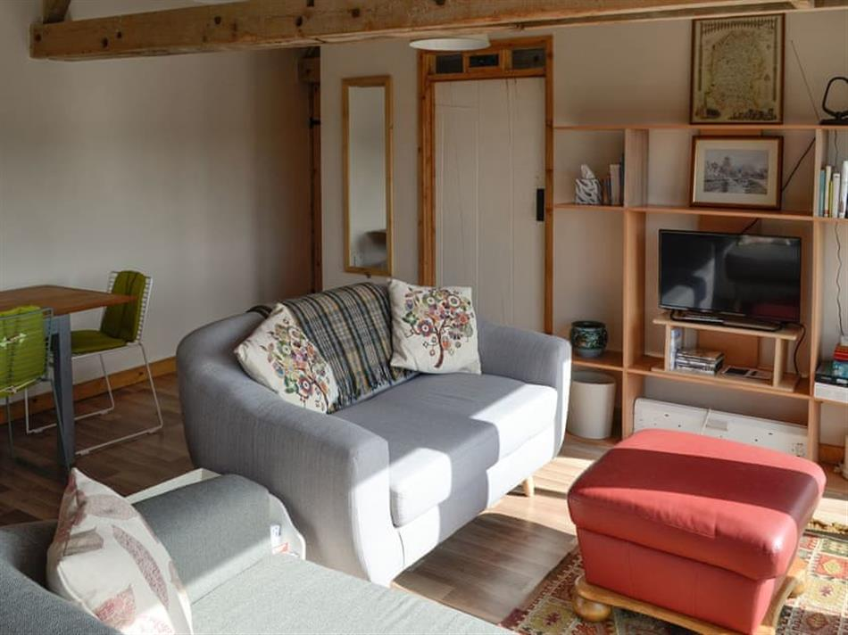 Living room in The Old Cow Shed, Wickwar, Wotton-under-Edge