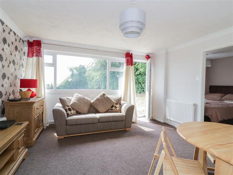 Living room in Waveney View, Kingfisher Holiday Park