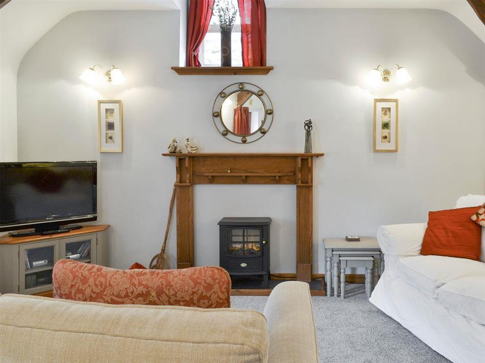 Living room in Well House Hayloft, Belford