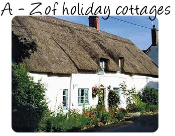 Holiday Cottage - look for holiday cottages starting with Y and Z