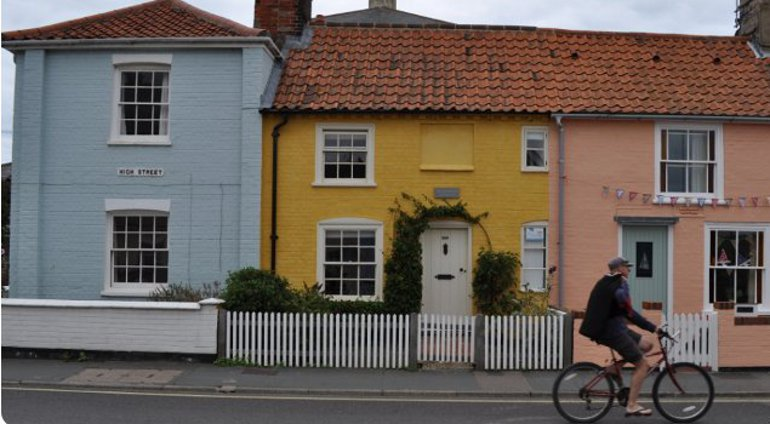 Holiday cottages in Suffolk