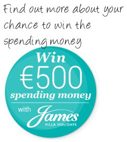 Stand a chance of winning € with James Villas