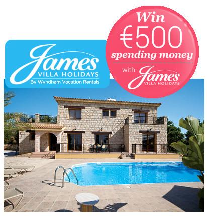 James Villas - prize draw