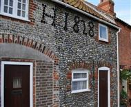 Pebble Cottage in Pakefield, Suffolk