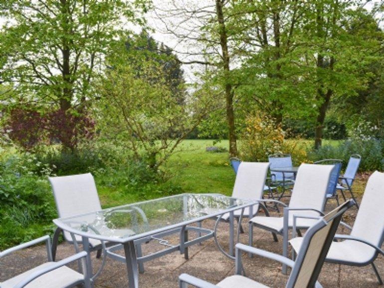 The garden at Tanamera in Loddon, Norfolk