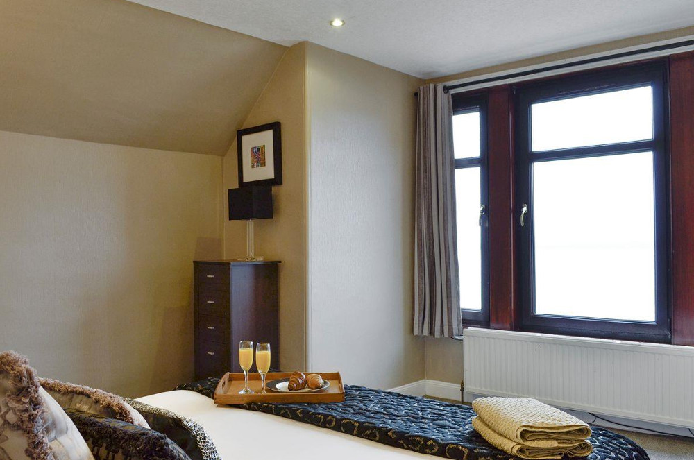 Double bedroom at The Old Retreat near Largs