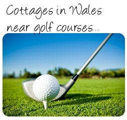Golf cottages - Wales