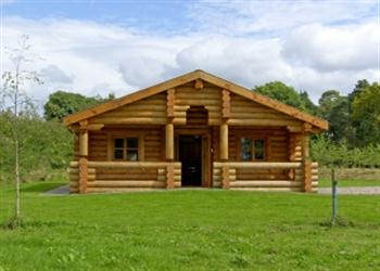 Cedar Log Cabin Brynallt Country Park From Sykes Holiday
